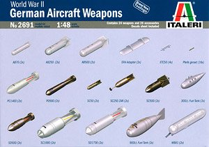 WWII German Aircraft Weapons (Plastic model) - HobbySearch Military