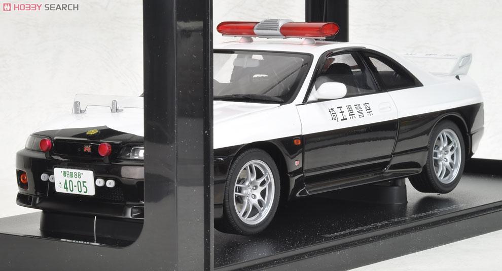 日産 スカイライン GT-R (R33) ポリスカー (埼玉県警) (ミニカー)