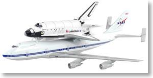 スペースシャトル 「ディスカバリー」 w/747 シャトル輸送機 (完成品)