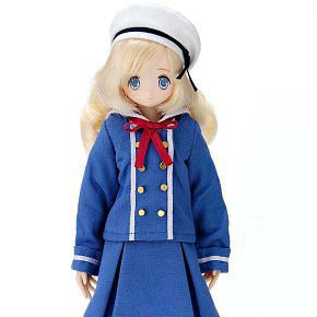 EX Cute Foreign Student from North Europe / Raili (Fashion Doll)