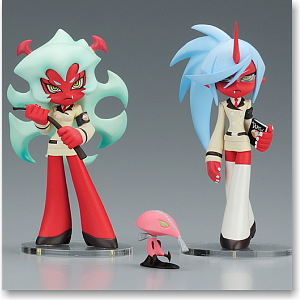 Twin Pack+ Scanty & Kneesocks with Fastener (PVC Figure)