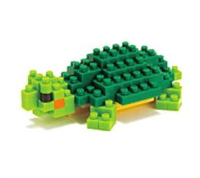 nanoblock ミドリガメ (ガレージキット)