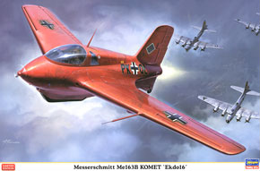 Messerschmitt Me 163B Komet `The 16th Experimental force` (Plastic model)