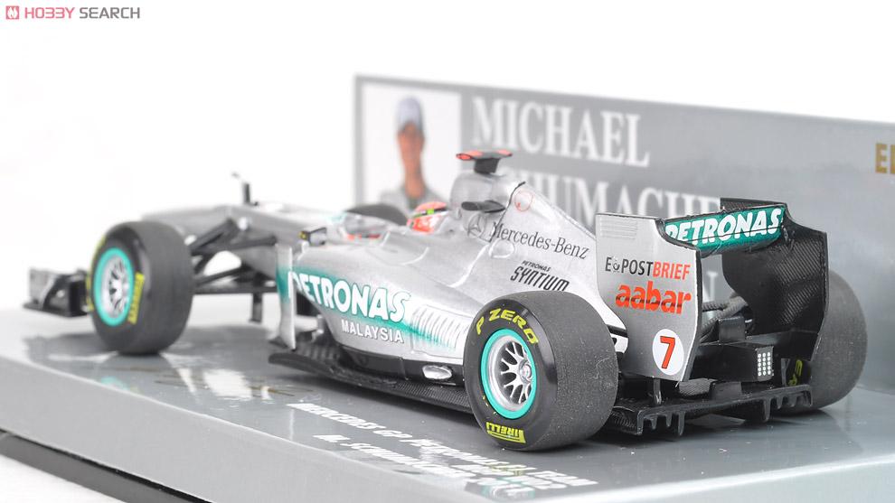 メルセデス GP ペトロナス F1 チーム MGP W02 M.シューマッハ 2011 (ミニカー)