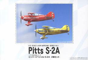 Pitts S-2A (2 Set) (Plastic model)