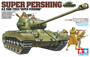 U.S. Super Pershing T26E4 (w/Weathering master) (Plastic model)