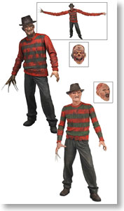 Freddy Krueger 7inch Action Figure Set Of 2 Asst