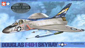 Douglas F4D-1 Skyray - Metallic Edition (Plastic model)