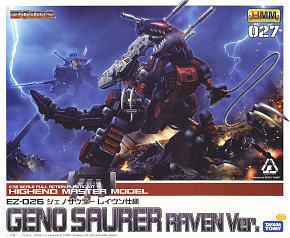 EZ-026 Jenosaurer Raven Custom (Plastic model)