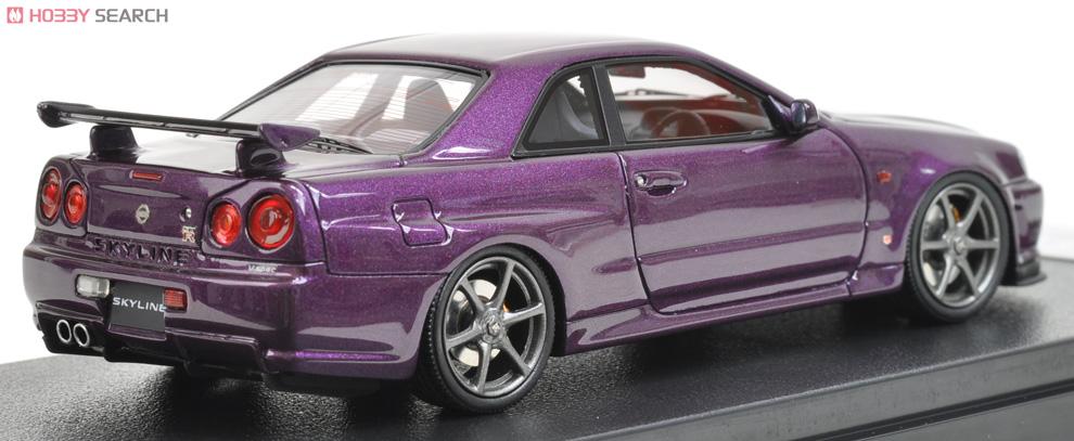 Nissan Skyline GT-R Vspec (R34) Midnight Purple II (ミニカー ...