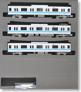 Tokyo Metro Series 05 13th Edition Additional Three Middle Cars Set A (without Motor) (Add-On A 3-Car Set) (Pre-colored Completed) (Model Train)
