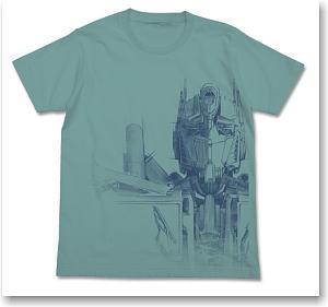 Transformers Dark Of The Moon Optimus Prime Drawing T Shirt Sage