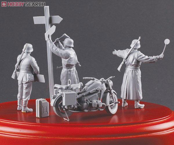 WWII 独陸軍 ツェンダップKS750 野戦憲兵フィギュア付 (プラモデル)