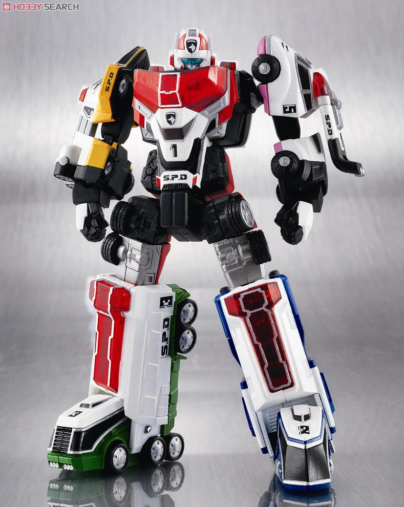 スーパーロボット超合金 デカレンジャーロボ (完成品)