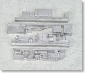 1/80 Machinery Under The Floor for NDC Kit (4pcs. for 1-Car) (Model Train)