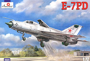 E-7PD (Conversion MiG-21) Experimental Short-Takeoff and