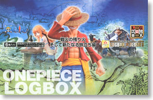 One Piece Logbox Embers of the war, And a New Journey 6 pieces (PVC Figure)