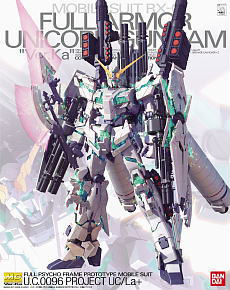 RX-0 Full Armor Unicorn Gundam Ver.Ka (MG) (Gundam Model Kits)