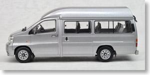 TLV-N43-02a エルグランド・ジャンボタクシー (銀) (ミニカー)