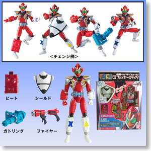 FMCS 03 Kamen Rider Fourze Fire States (Character Toy)
