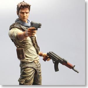 Uncharted3 Play Arts Kai Nathan Drake Pvc Figure