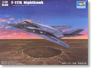 USAF F-117A Nighthawk (Plastic model)