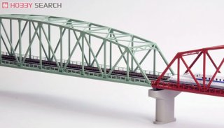 TOMIX N gauge 3222 double track song chord large truss iron bridge F