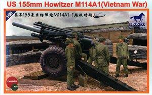 Bronco Models CB35102 US 155mm Howitzer M114A1 in 1:35 Vietnam War