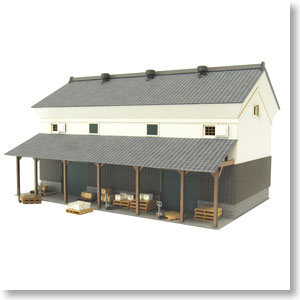 [Miniatuart] Visual Scene Series : Depot-1 (Unassembled Kit) (Model Train)