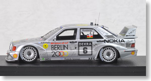 Mercedes-Benz 190E (#6) 1992 DTM MIRAGE (ミニカー)