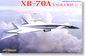 USAF Prototype Strategic Bomber XB-70A Valkyrie AV-1 (Plastic model)
