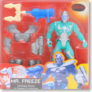 Batman&Robin Mr.Freeze Ultimate Armor & Freeze-on Missile