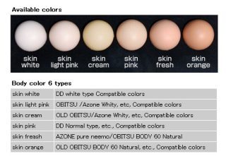 One Sixth - 27S (BodyColor / Skin Light