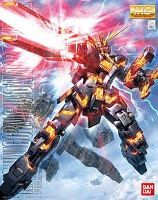 Rx 0 Unicorn Gundam 02 Banshee Mg Gundam Model Kits