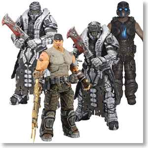 Gears of War III Vol.3 Asst 4 Set