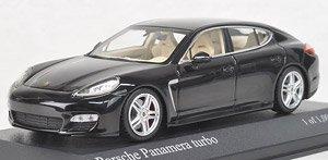 ポルシェ パナメーラ ターボ 2011 (ブラック) (ミニカー)