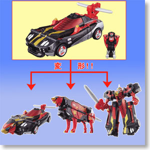 Buster Machine CB-01 DX Go-Buster Ace (Character Toy)