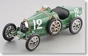 ブガッティ T35 1924年 #12 英国 (グリーン) (ミニカー)