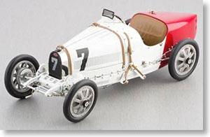 ブガッティ T35 1924年 #7 ポーランド (ホワイト) (ミニカー)