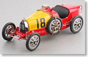 ブガッティ T35 1924年 #18 スペイン (レッド) (ミニカー)