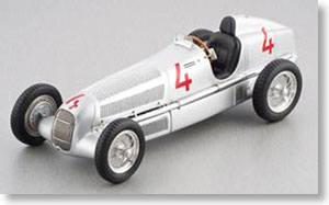 メルセデス・ベンツW25 1935 #4 (シルバー) (ミニカー)