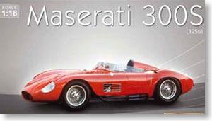 マセラッティ 300S 1956 (レッド) (ミニカー)