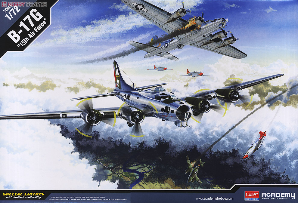 Boeing B-17 G Flying Fortress, 486th Group Bomber 1944 - Academy 1/72 10177694a