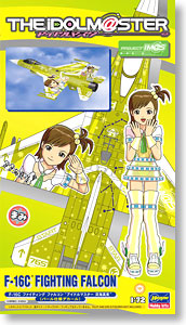 F-16C Fighting Falcon `The Idolmaster Futami Mami` (Plastic model)