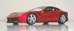 フェラーリ F12 ベルリネッタ (Rosso Scuderia) (オレンジレッド) (ミニカー)