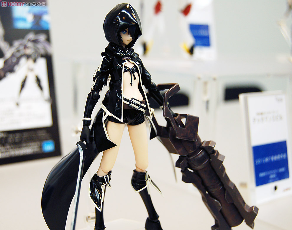Figma black rock shooter tv animation ver pvc figure for Ver shooter online