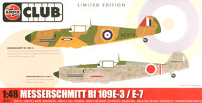 [Limited Edition] Messerschmitt Bf 109E IJA Test Flight (Plastic model)