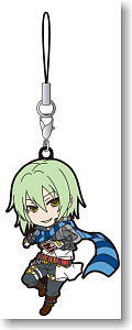 The Legend of Heroes: Ao no Kiseki Rubber Strap Lazy (Anime Toy)