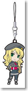 The Legend of Heroes: Ao no Kiseki Rubber Strap Mireille (Anime Toy)