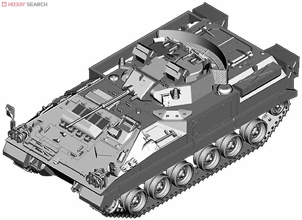 イギリス軍 ウォーリア 装甲戦闘車 (プラモデル)